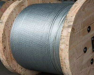 Secondary Galvanized Stranded Steel Wire for ACSR