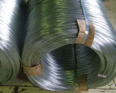 High Carbon Galvanized Strapping Wire